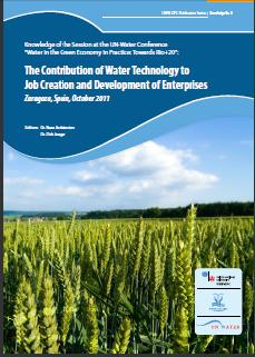 The Contribution of Water Technology to Job Creation and Development of Enterprises